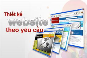 Dịch vụ thiết kế website theo yêu cầu sáng tạo độc đáo,mang đậm tính nghệ thuật thẩm mỹ